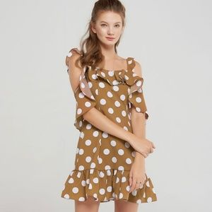 Storets Penelope Polka Dot Mini Dress NWT